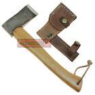 Camping & Hiking Hatchet Handmade Viking Axe Wildlife Travel Tool Steel Hardwood