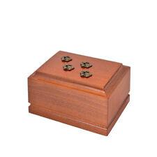en bois crémation d'animal de compagnie urnes pour chat ou chien ashes.unique