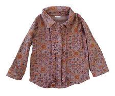 Chemise rose 12 mois Petit Bateau vêtement bébé fille en coton neuf dégriffé