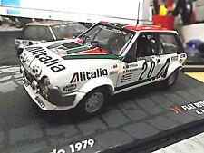FIAT Ritmo Abarth Gr.2 Monte Carlo Rallye #20 Bettega Alitalia IXO Altaya 1:43