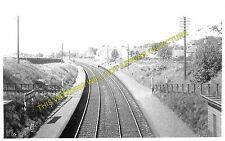 Stoneywood Railway Station Photo. Bankhead - Dyce. Aberdeen to Parkhill Line (1)