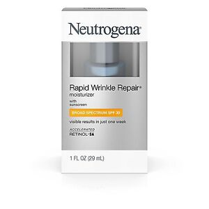 Neutrogena Rapid Wrinkle Repair Moisturizer with sunscreen SPF 30