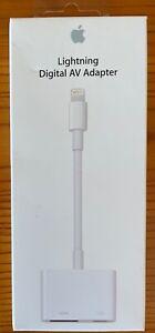 Brand New -- Apple Lightning Digital AV Adapter