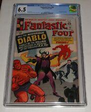 Fantastic Four # 30..CGC Universal slab 6.5  Fine+ grade-dh..1964 comic book