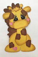 BABY GIRAFFE ANIMAL PREMADE PAPER PIECING 3D DIE CUT MY TEAR BEARS KIRA
