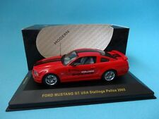 FORD MUSTANG GT 2005 - USA STALLINGS POLICE - POLICIA - 1/43 NEW IXO MOC069