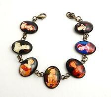 Henry VIII and His Six Wives Historical Jewellery Bracelet Tudor Reenactment