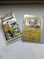 Pokemon 25th Anniversary General Mills Promo Holo Pikachu!
