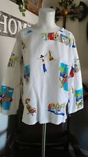 Hot Cotton Womens Pullover Box Cut Cotton Top Sz.XL