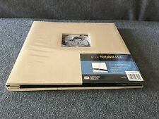 "Photo Album/Scrapbook Postbound 12"" X 12"" Beige with Photo Window on Front Cover"
