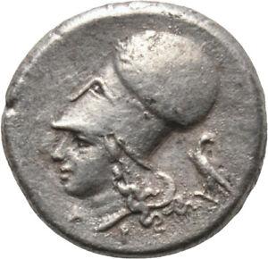 DIONYSOS Korinth AR-Stater  Athena Pegasos Adler #MN 1270