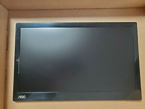 """AOC I1601FWUX 15.6"""" IPS LED Portable Monitor - Black"""