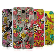 HEAD CASE DESIGNS PRINTED PATCHES AND FABRICS GEL CASE FOR LG PHONES 1