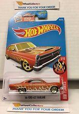 '66 Ford 427 Fairlane #95 * Orange * 2016 Hot Wheels * H27