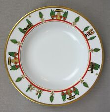 Superbe CARTIER La Maison de Louis Limoges monture Deep soupe plaque 22 cm #4