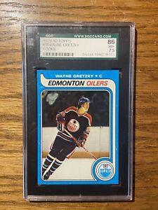 1979/1980 Topps Wayne Gretzky HOCKEY ROOKIE CARD RC- SGC 7.5 (NM+ 86)