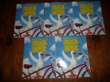 NEW Lot of 5 copies DUCK on a BIKE David Shannon GUIDED READING Lit Circle