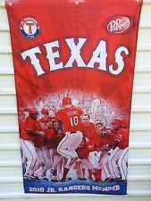 """Texas Rangers Banner """"2010 Jr. Rangers Member"""" MLB NR FREE SHIPPING !!!"""