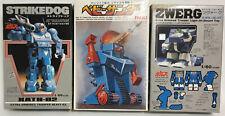 VOTOMS : ZWERG X-ATL-01-DT, STRIKEDOG XATH-02, BLUE THUNDER ROBOT MODEL KITS