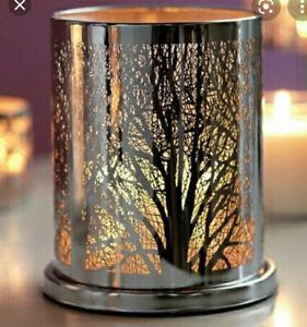 PartyLite Enchanted Woodlands Votive/Hurricane/Candle Sleeve (Retired)
