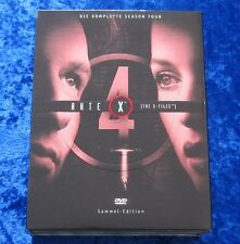 Akte X Die komplette vierte Season Sammel-Edition, DVD Box Staffel 4, Digipack
