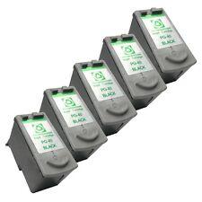5 BLACK PG-40 Ink Cartridges for Canon MX 300 310 JX 200 210 300 500 510 Printer