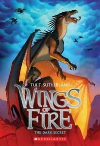 Wings of Fire Book Four: The Dark Secret - Paperback - GOOD