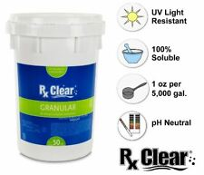 Rx Clear 99.3% Sodium Di-Chlor Granular Swimming Pool Chlorine - 50 lbs