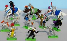 Lot of Britains Limited Deetail Medieval Knights & Turks Horses England, Vintage