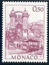 TIMBRE DE MONACO N°1764 ** MONACO D'AUTREFOIS // LA PLACE DE LA CREMAILLIERE