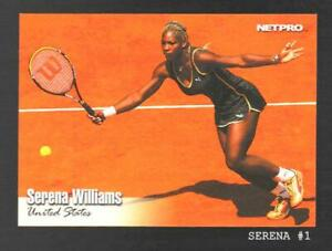 Serena Williams  2003 NETPRO Tennis Rookie Card #1 NM+  #SM52