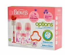 Dr. Brown's Bottle Gift Set Pink - Bruised Box