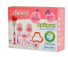 Dr. Brown's Bottle Gift Set Pink - Bruised Box