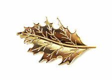 Gold Leaf Hair Clip Festival Grecian Roman Boho Vintage Leaves Pin Accessory 391