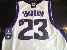 Signed MARCUS THORNTON KINGS Swingman Revolution Jersey! Celtics NBA Auto! COA!
