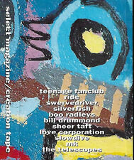 Various ‎Creation Tape CASSETTE PROMO Select Creation Records Indie Rock Shoegaz