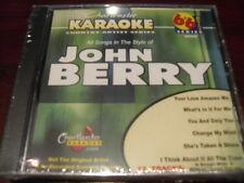 CHARTBUSTER 6+6 KARAOKE DISC 20504 JOHN BERRY CD+G COUNTRY MULTIPLEX