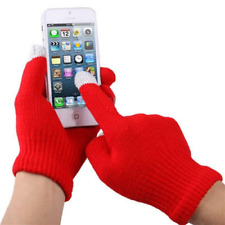 Guanti Rossi con punto per Touch Screen x iPhone 4 e 4S touch / iPad / iPod, Bla