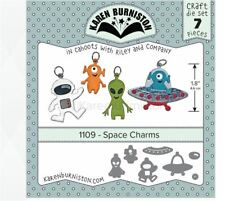 KB Riley- Karen Burniston Cutting Die Set ~ SPACE CHARMS ~ 3D Card Making ~1109