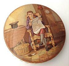 Antique Victorian pot lid The Times