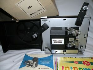 Bell & Howell Autoload 461A Vintage Movie Projector Powers On Bulb Works