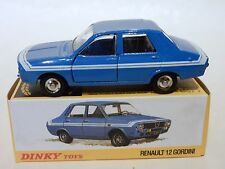 FRENCH DINKY. ATLAS. 1424G RENAULT 12 GORDINI IN BLUE  MIB