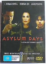 ASYLUM DAYS DVD C. THOMAS HOWELL DEBORAH ZOE Rare Horror Movie