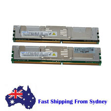 Samsung 2GB (2X1G) 2Rx8 PC2-5300F DDR2-667 Fully buffered ECC Server Memory