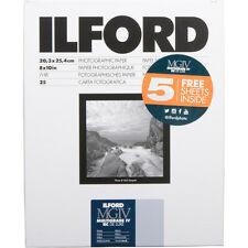"Ilford Multigrade Iv Rc Deluxe Paper 8 x 10"" Pearl Surface 30 Sheets"