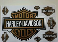 Harley Davidson Decal Aufkleber/Sticker Set