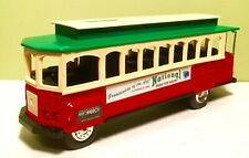 ERTL National Farm Toy Show Trolley Car Bank