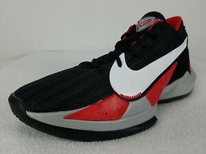 Nike Air Zoom Freak 2 Basketball Shoes Size 8 Men's Black Giannis CK5424-003