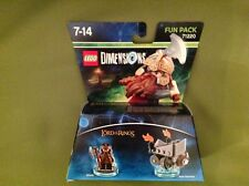 Lego Dimensions 71220 Lords of the Ring Gimli axe Chariot pack Neuf scellé
