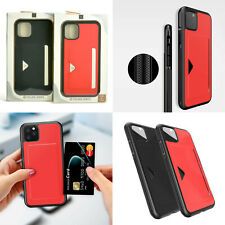 iPhone 11 Pro & iPhone 11 Pro Max Credit Card Holder Slim Wallet Case Cover US